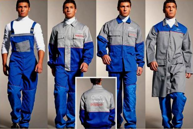 Одежда рабочего стиля